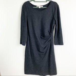 Diane Von Furstenberg Knit Starburst Shift Dress